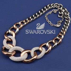 "SWAROVSKI ""Bound"" Pavé Crystal Necklace"